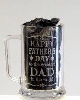 Father's Day Glass Tankard